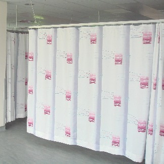 Francis Price Curtains, White, | NHS Hospitals, Behrens Healthcare, Supplier, Manchester, United Kingdom