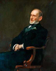 Portrait of Sir Jacob Behrens.
