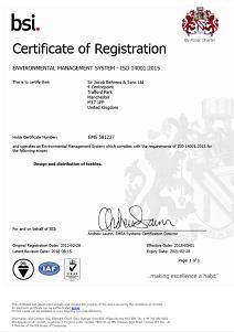 Certificate Environmental Management