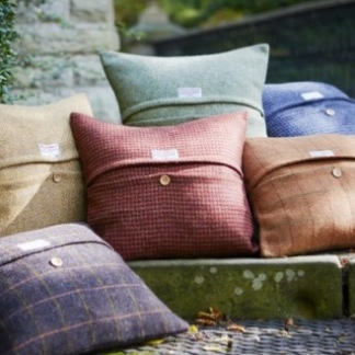 Harris Tweed Cushions | Behrens Home Textiles Supplier, Manchester, United Kingdom