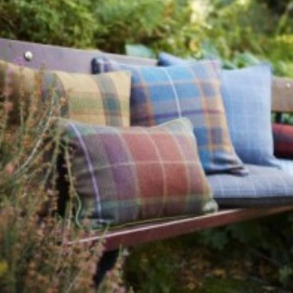 Tartan Cushion Range | Behrens Home Textiles Supplier, Manchester, United Kingdom