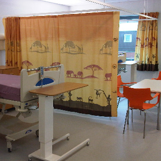 Landscape Panel Fabric | NHS Hospitals, Behrens Healthcare, Supplier, Manchester, United Kingdom